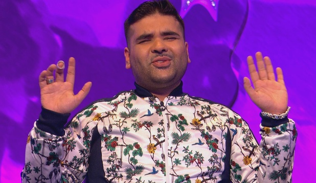 Naughty Boy appears on Celebrity Juice - 14 May 2015.