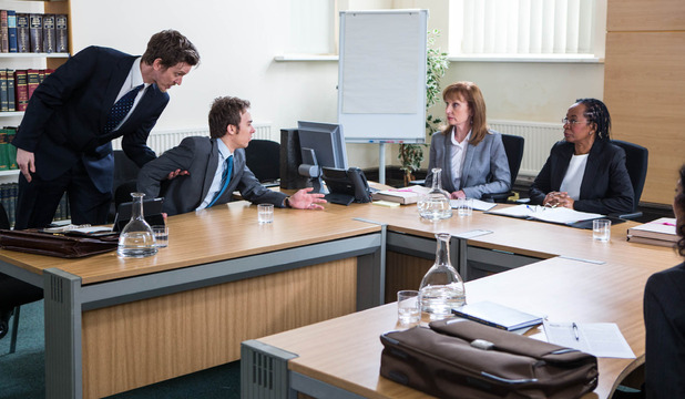 Corrie, David in court, Mon 18 May