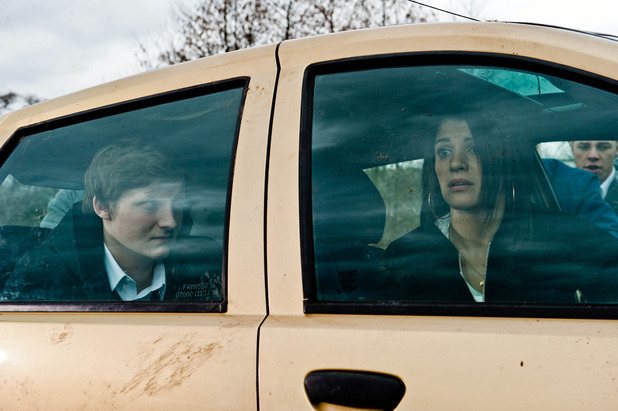 Emmerdale, Alicia trapped with Lachlan, Wed 13 May