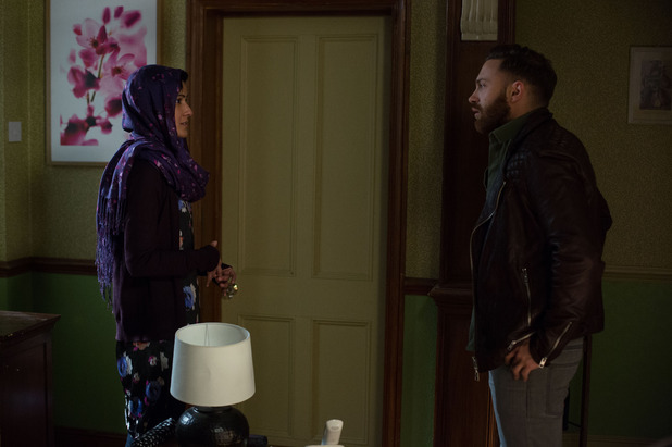 EastEnders, Dean confronts Shabnam, Tue 19 May