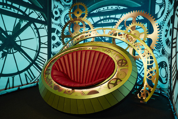 Big Brother's new Diary Room chair - May 2015.