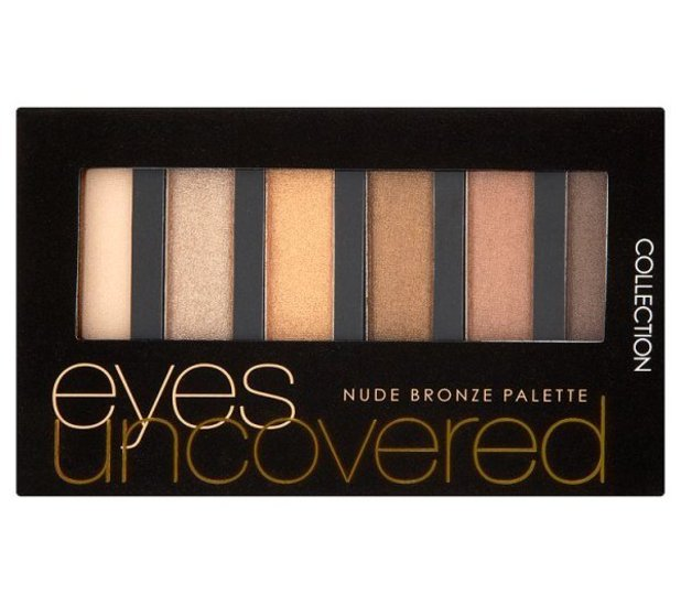 COLLECTION Eyes Uncovered Palette in Nude £3.99 Superdrug