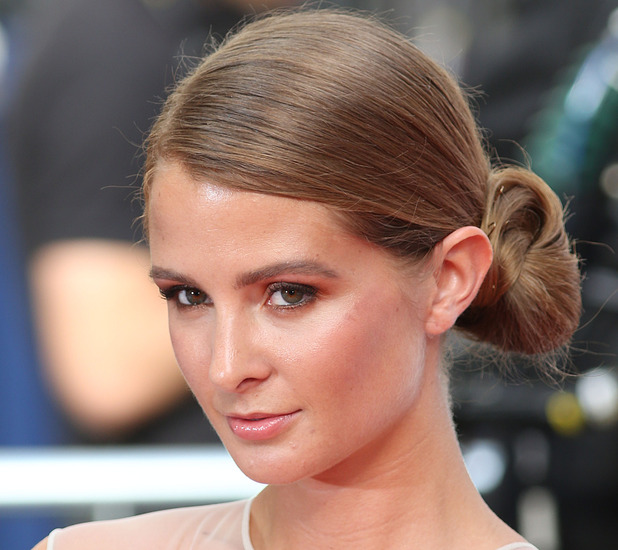 Ex Made In Chelsea star Millie Mackintosh on the red carpet at the TV BAFTA's May 11th 2015