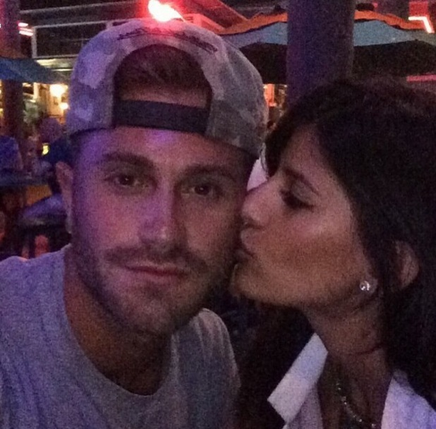 Jasmin Walia kisses boyfriend Ross Worswick, Instagram 13 May