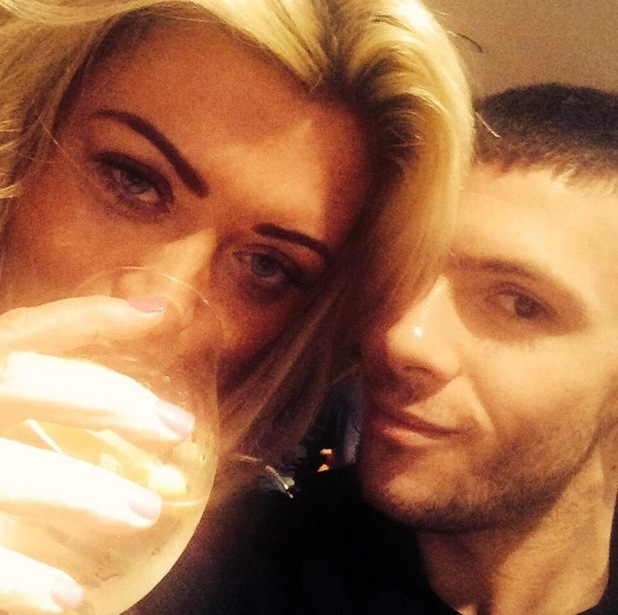 Gemma Collins and Big Brother housemate Aaron Frew, Twitter 12 May