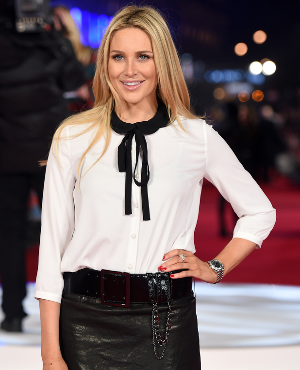 Stephanie Pratt attends a special screening of 'Focus' at Vue West End London 11 February