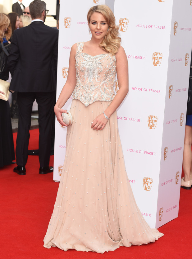 Lydia Bright, House of Fraser British Academy (BAFTA) Television Awards held at the Theatre Royal - Arrivals, 10 May 2015