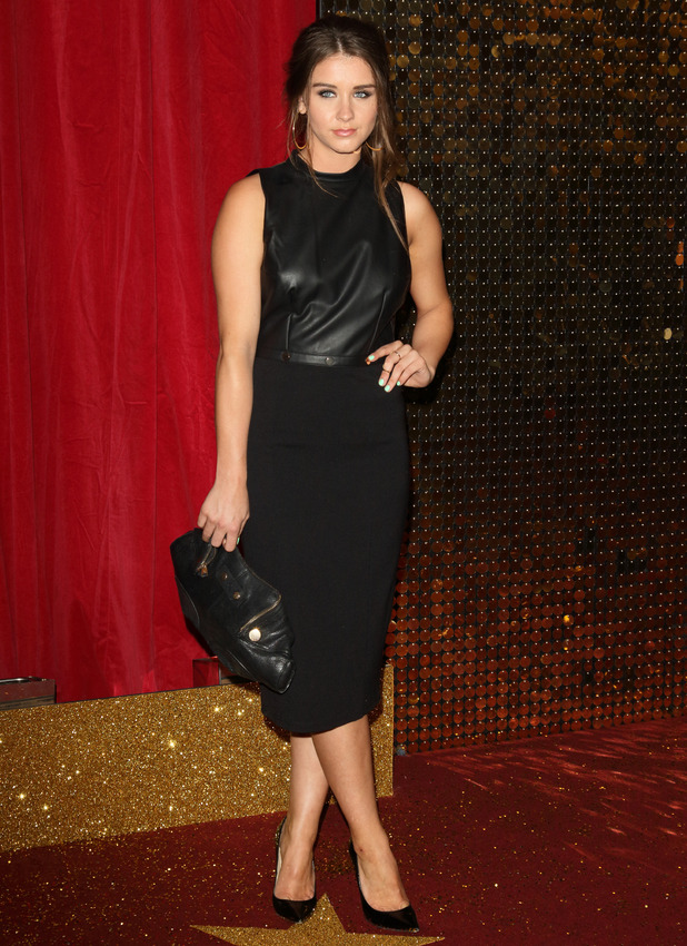 Brooke Vincent attends The British Soap Awards 2015 held at the Palace Hotel, 16 May 2015