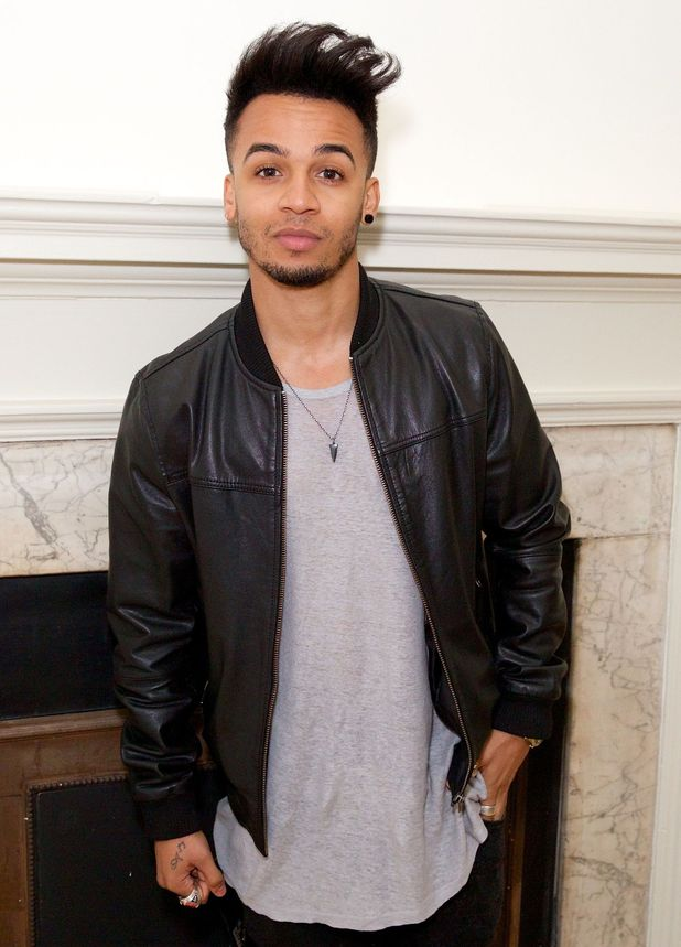 Aston Merrygold at Rochelle Humes' SS15 collection for very.co.uk, London, Britain - 24 Mar 2015.