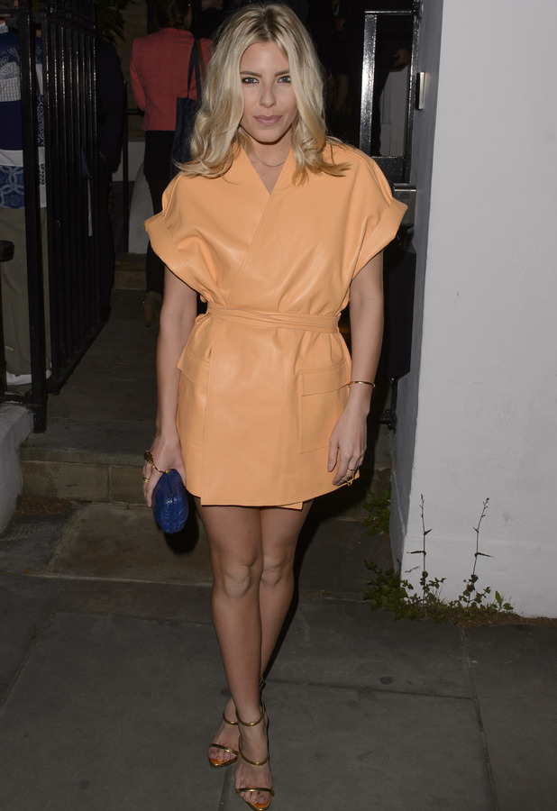 Mollie King at the Don Perignon closing party in London 14th May 2015