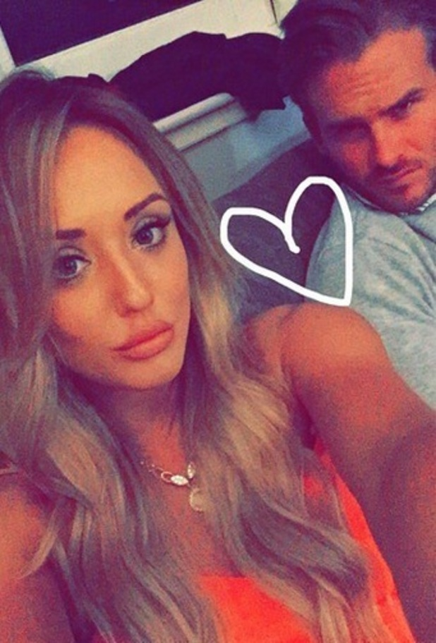 Charlotte Crosby and Mitch Jenkins, Instagram 12 May