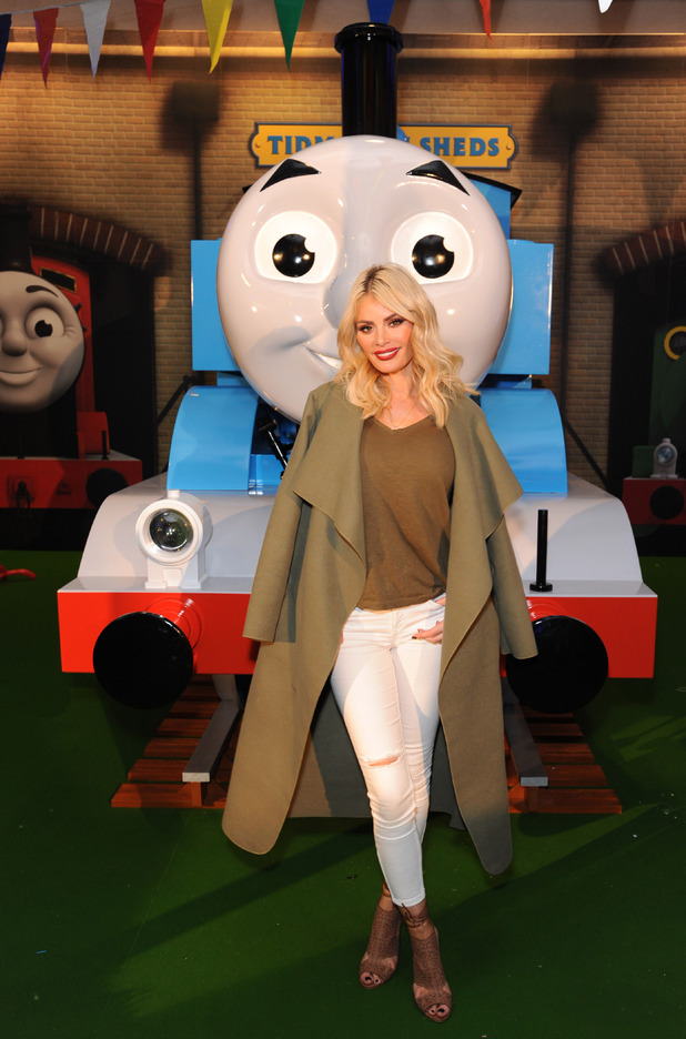 TOWIE's Chloe Sims at the Thomas the Tank Engine & Friends Celebrate 70th Anniversary at British Museum, London, Britain - 09 May 2015.
