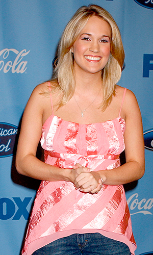 Carrie Underwood (Photo by Gregg DeGuire/WireImage for Fox Television Network)