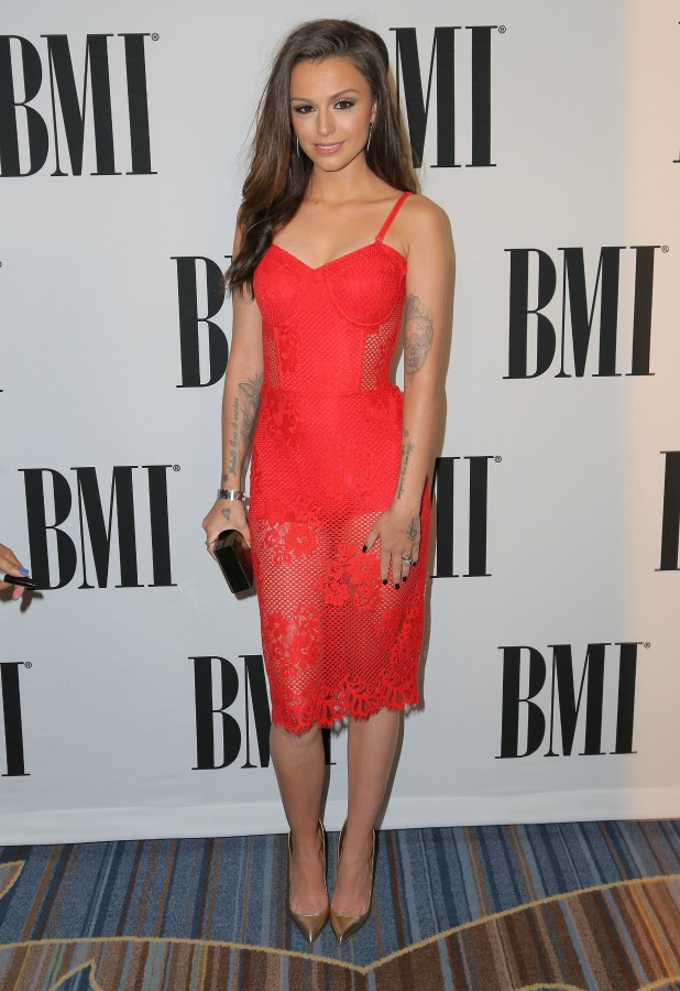Cher Lloyd attends the 63rd Annual BMI Pop Awards held at the Beverly Wilshire Hotel on May 12, 2015 in Beverly Hills, California. (Photo by Chelsea Lauren/Getty Images for BMI)