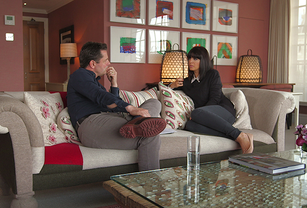Claudia WInkleman and Chris Hollins on Watchdog, 14 May 2015