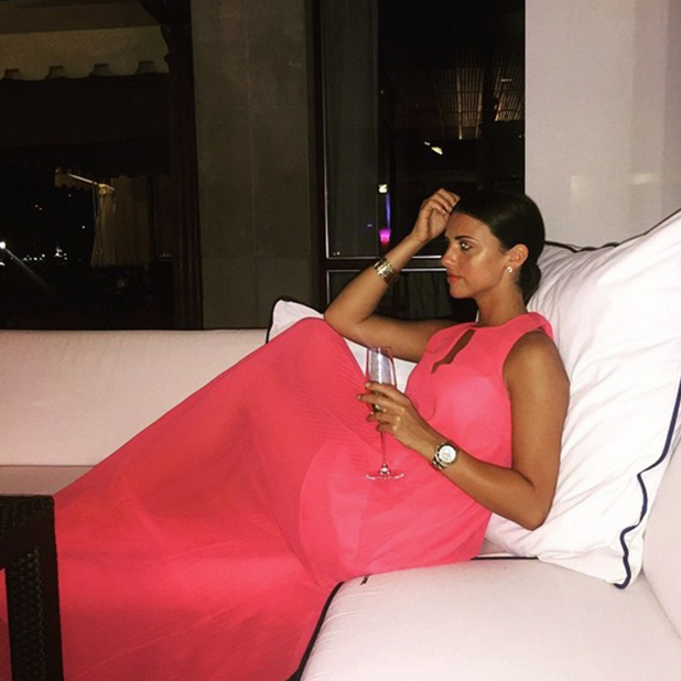 Lucy Mecklenburgh in an Instagram picture, 15 May 2015