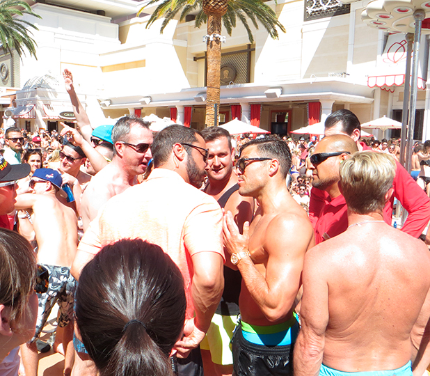 Mark Wright at Encore in Vegas, 10 May 2015