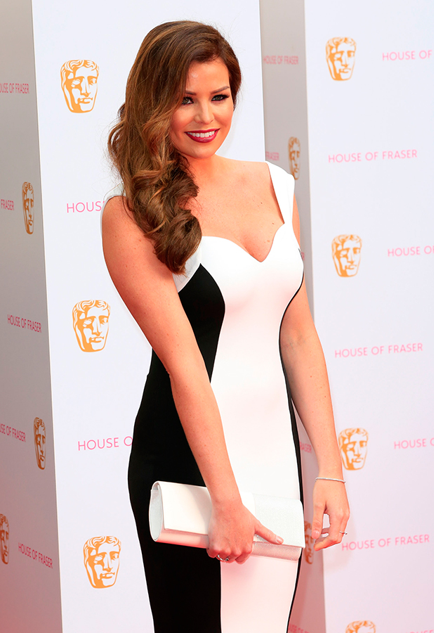 Jessica Wright, House of Fraser British Academy (BAFTA) Television Awards held at the Theatre Royal - Arrivals.