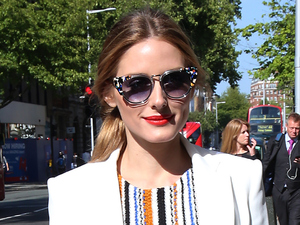 Olivia Palermo nails dressed down chic in jeans and blazer combo!