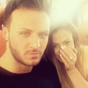 Holly Hagan and Kyle Christie, Instagram 17 May