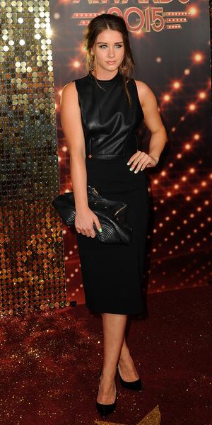 Brooke Vincent at British Soap Awards, London 16 May
