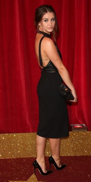 Brooke Vincent at British Soap Awards 16 May