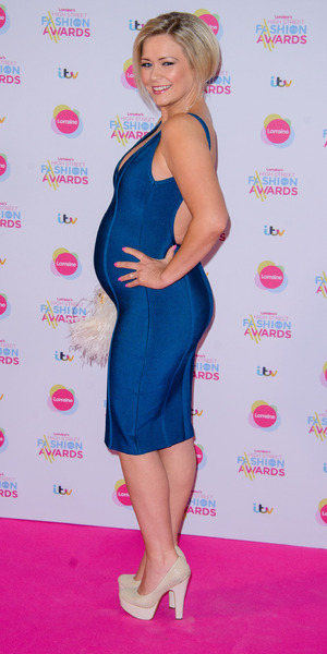 Suzanne Shaw attends Lorraine's High Street Fashion Awards, Soho Sanctum Hotel, London 19 May