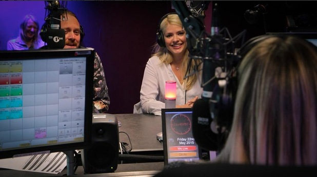Keith Lemon and Holly Willoughby join Fearne Cotton on her last Radio 1 show, 22nd May 2015