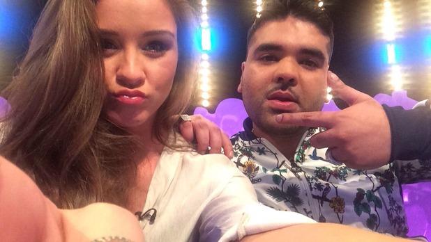 Brooke Vincent blog: Brooke and Naughty Boy 20 May