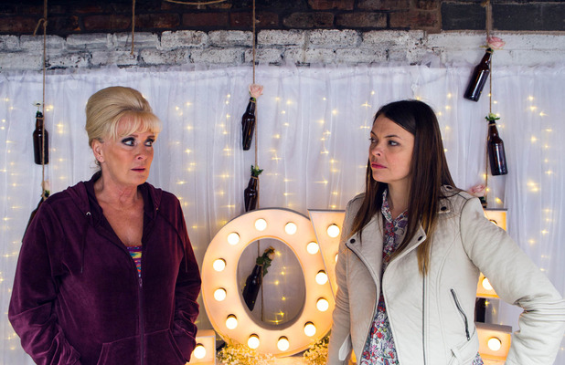 Corrie, Tracy tells Liz everything, Mon 25 May