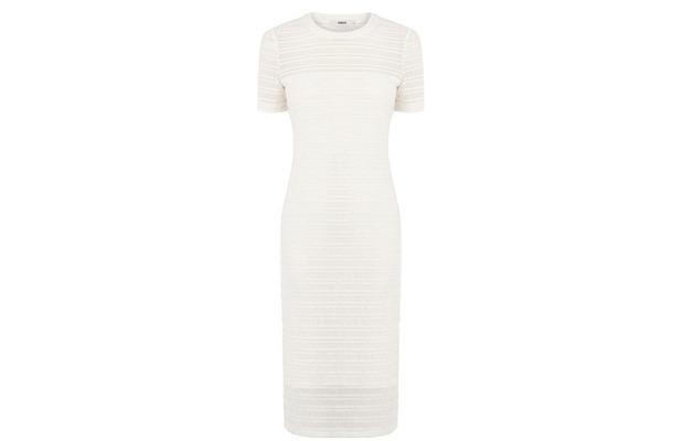 White lace stripe dress Oasis, £35, 21st May 2015