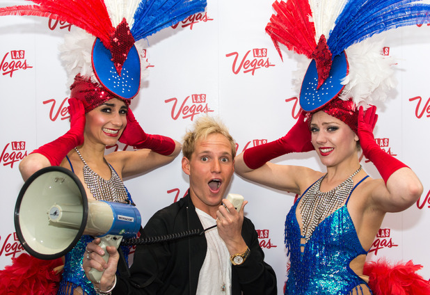 Jamie Laing, Las Vegas and Made In Chelsea joined forces to launch a nationwide search for the best British accent, 20th May 2015