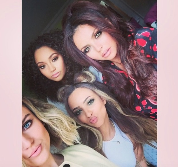 Little Mix, celebrate new single release Black Magic, 21 May 2015