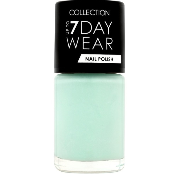 Collection Up To 7 Day Wear Nail Polishes in Ice, £1.99