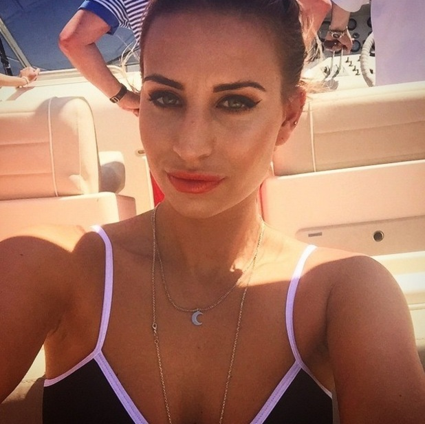 Ferne McCann holidaying in Cannes, Instagram 18 May