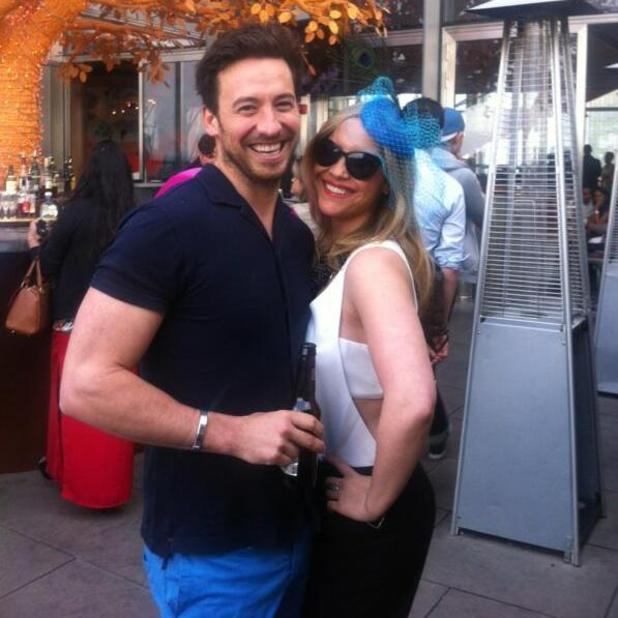 Heidi Range and her boyfriend Alex Partakis, 8 August 2014