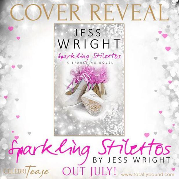 Jess Wright reveals the cover of her first novel 'Sparkling Stilettos', 22nd May 2015