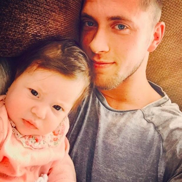 Dan Osborne shares cute selfie with daughter Ella, 24 May 2015