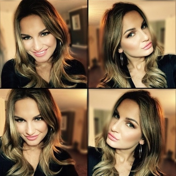 Sam Faiers shows off new hair for summer on Instagram, 17th May 2015