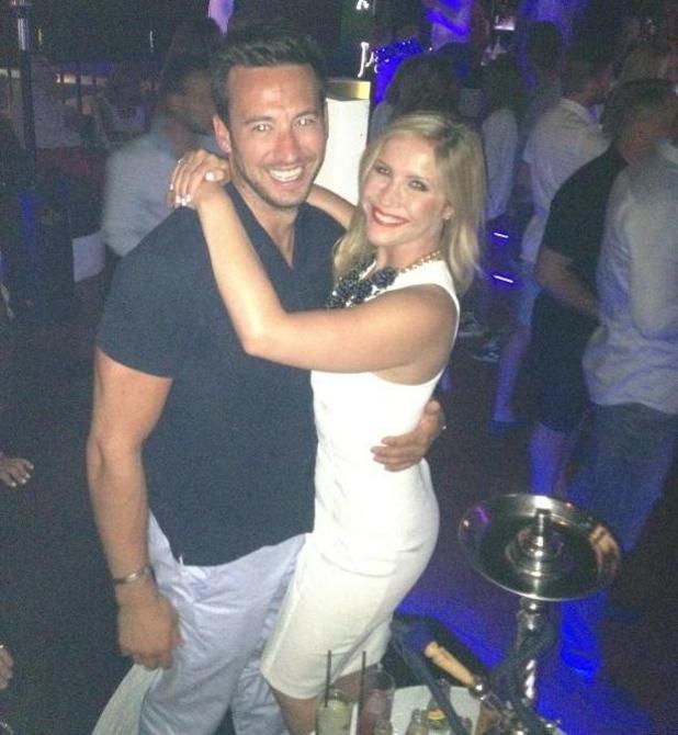 Heidi Range and her boyfriend Alex Partakis, 2 June 2014