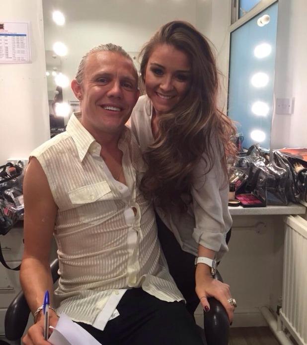 Brooke Vincent blog: Brooke and Jimmy Bullard 20 May