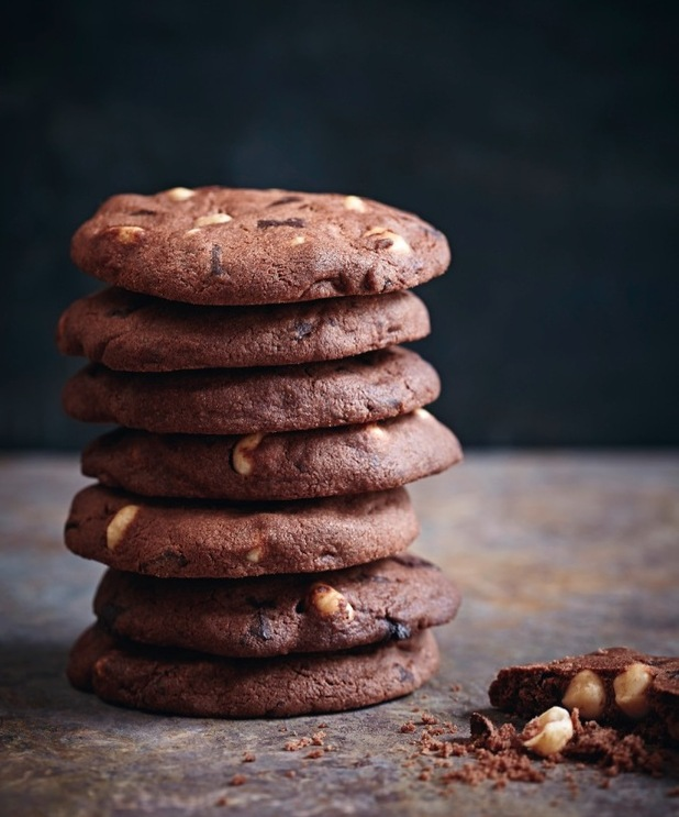 Easy Chocolate Crownies from hotel chocolat cookbook