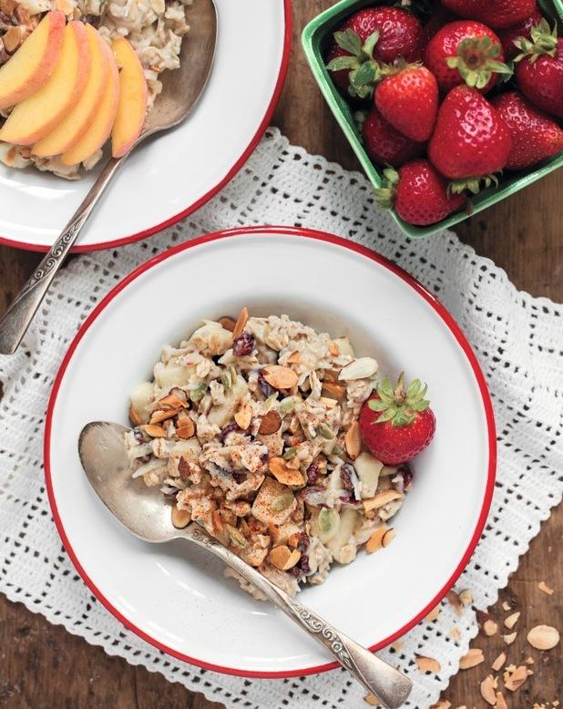 spa day bircher muesli Angela Liddon vegan cookbook, Oh She Glows
