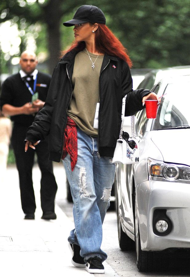 Rihanna out for a stroll in New York City 19th May 2015