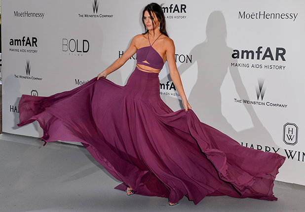 Kendall Jenner, 68th Cannes Film Festival - amfAR's Cinema Against Aids Gala at Hotel du Cap-Eden-Roc in Antibes