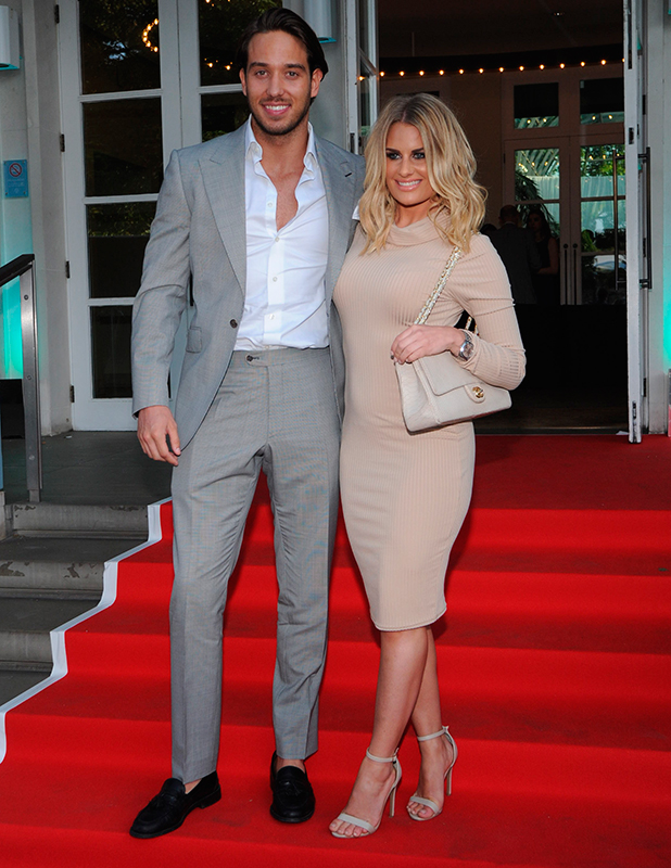 Danielle Armstrong and James Lock, The Ben Cohen StandUp Foundation dinner, 21 May 2015