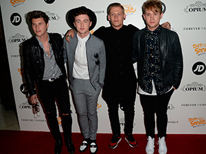 Rixton at Once Upon A Smile Grand Ball 2015 at The Hilton Hotel, Manchester - Arrivals 2015