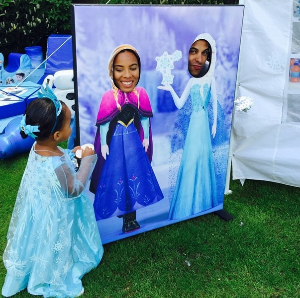 Rochelle Humes celebrates Alaia-Mai's second birthday with Frozen party 20 May