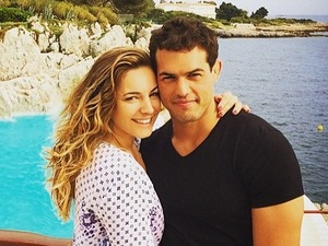 Kelly Brook is loved-up with boyfriend Jeremy Parisi on his birthday