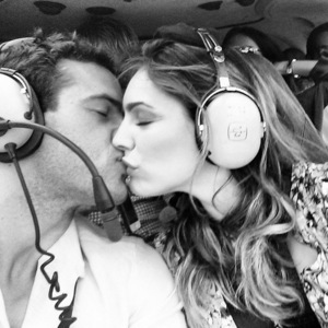 Kelly Brook and Jeremy Parisi in St Tropez, Instagram 26 May